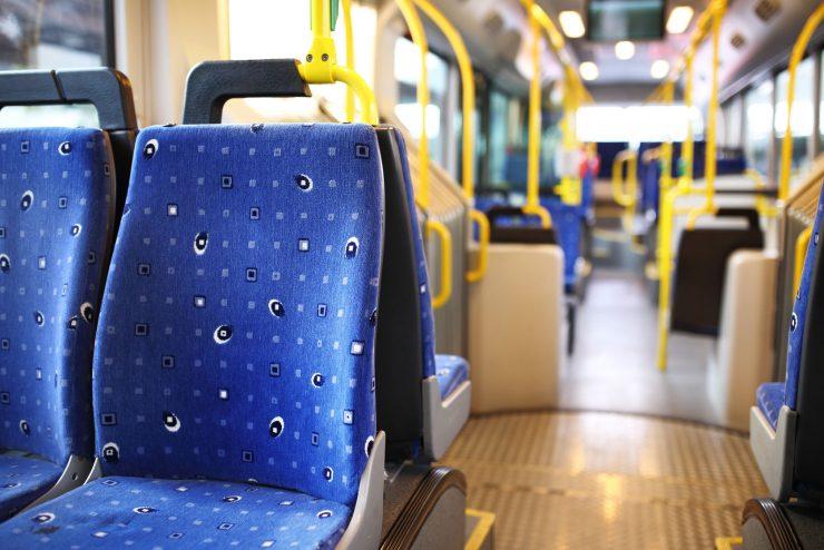 Transport seat cushions